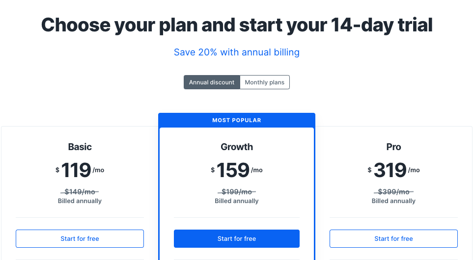 Kajabi Pricing 2020
